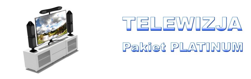 Pakiet PLATINIUM TV Z INTERNETEM